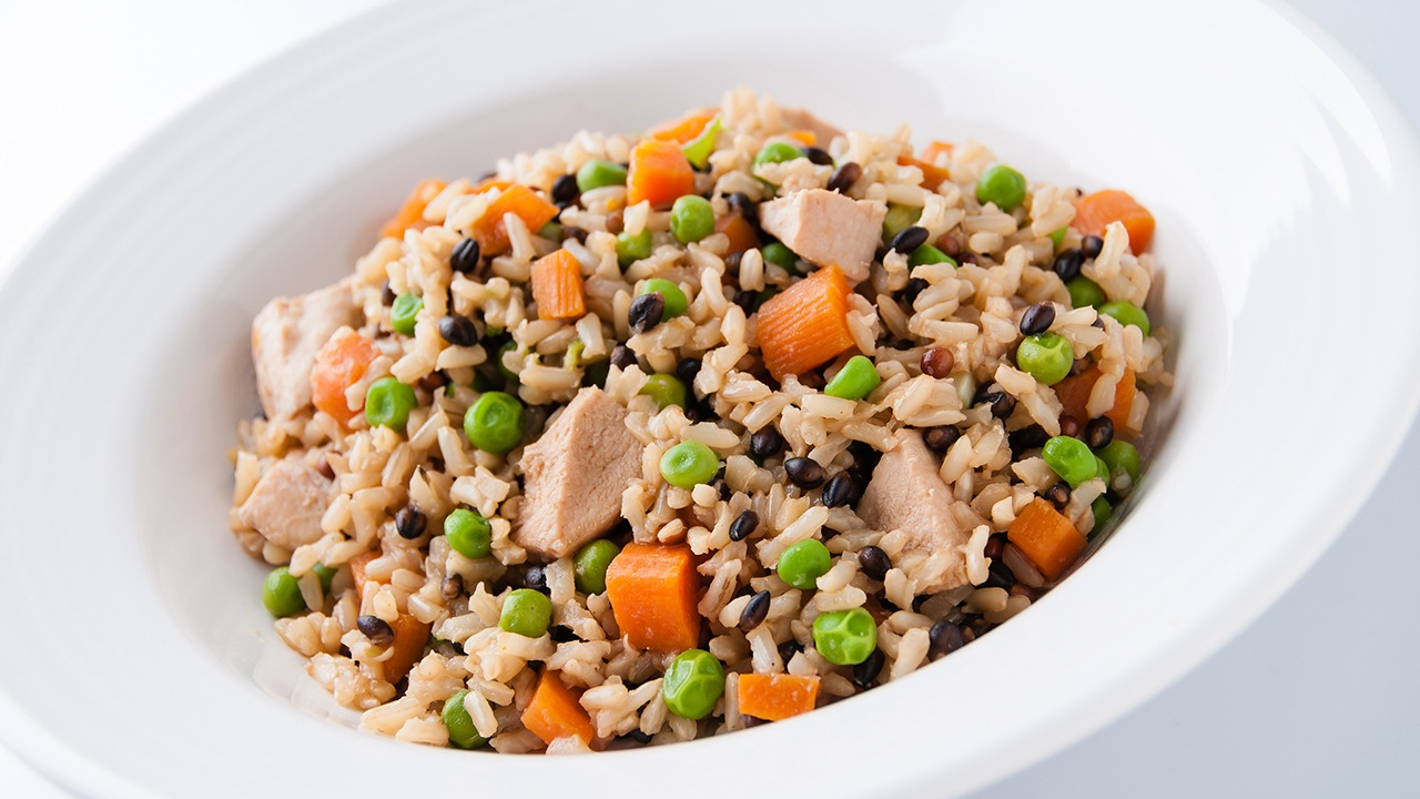 "Black Pearl Medley® Chicken ""Fried"" Rice K-12"