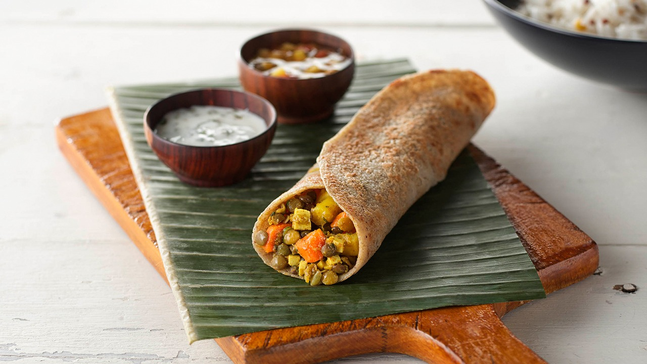 Indian Dosas with Black Forest Blend™ and Jasmine Blend