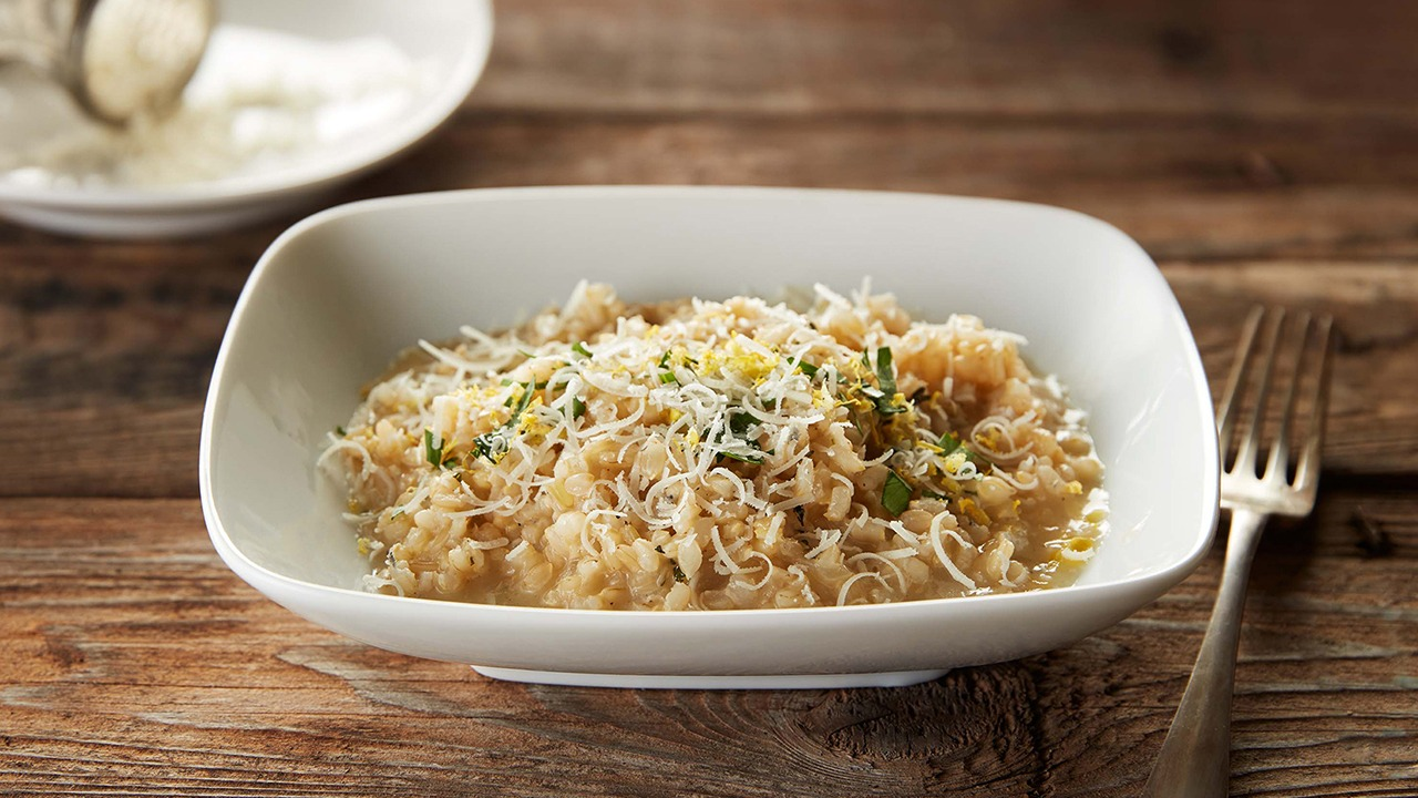 Lemon Herb Risotto – K-12 Foodservice