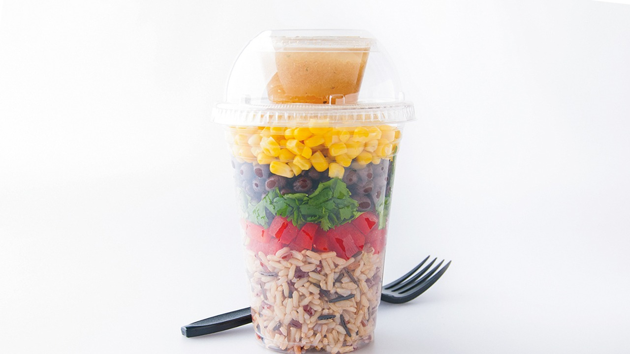 Southwest Black Bean & Ruby Wild Blend™ Shaker Salad K-12