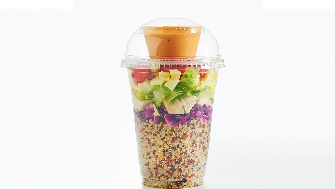 Spicy Quinoa Cobb Shaker Salad K-12