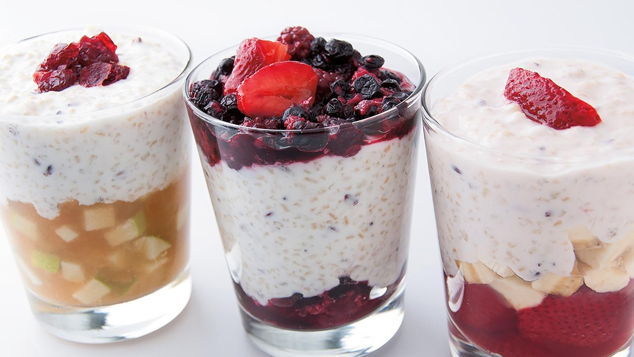 Sunrise Breakfast Mixed-Berry Parfaits K-12