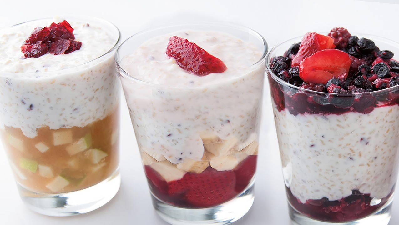Sunrise Breakfast Strawberry-Banana Parfaits K-12