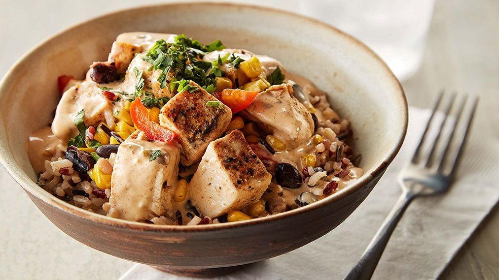 Grain Perfect™ Ruby Wild Blend™ Chipotle Chicken Bowl
