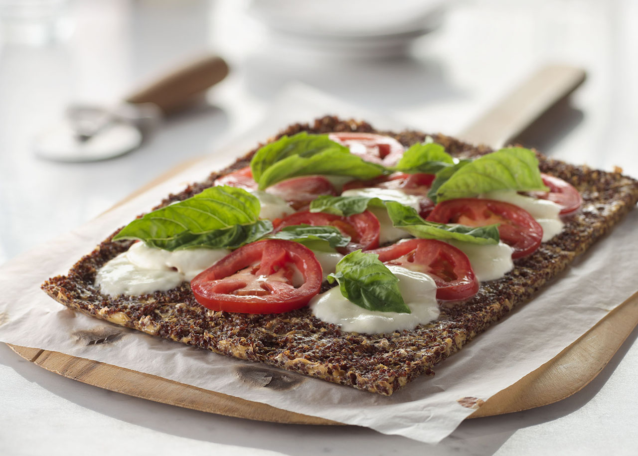 Grain Perfect™ Tri-Color Quinoa Cauliflower Flatbread